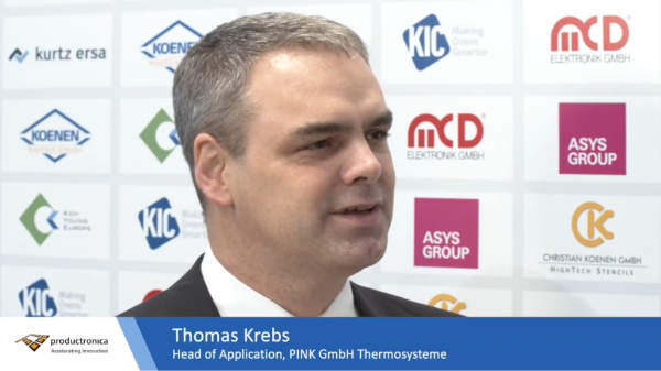 Productronica 2019 Thomas Krebs